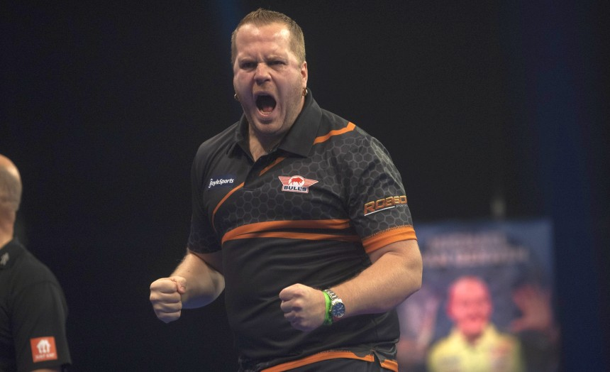 Dirk van Duijvenbode erreicht sensationell die 3. Runde