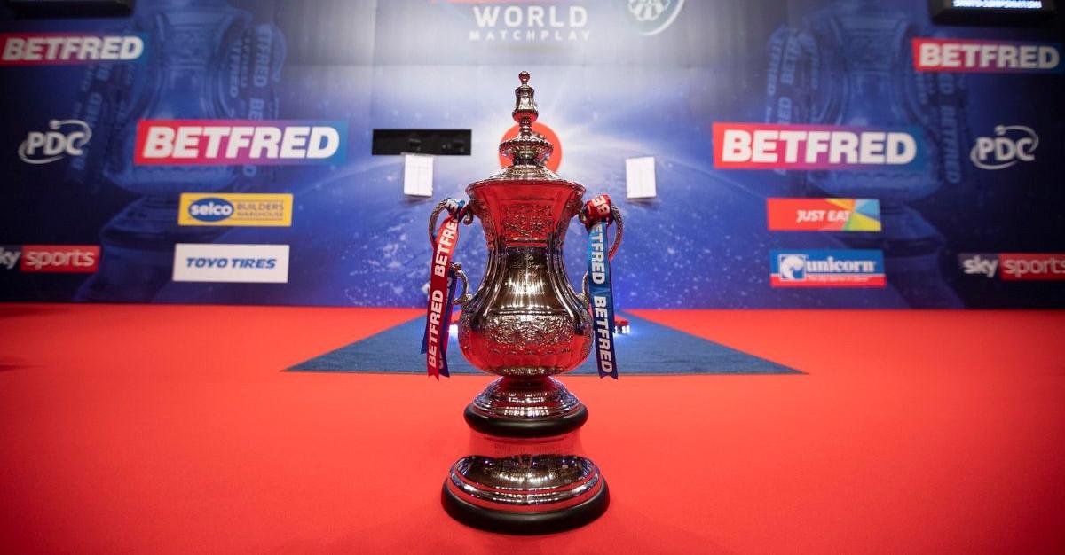 World Matchplay Darts Trophy Pokal