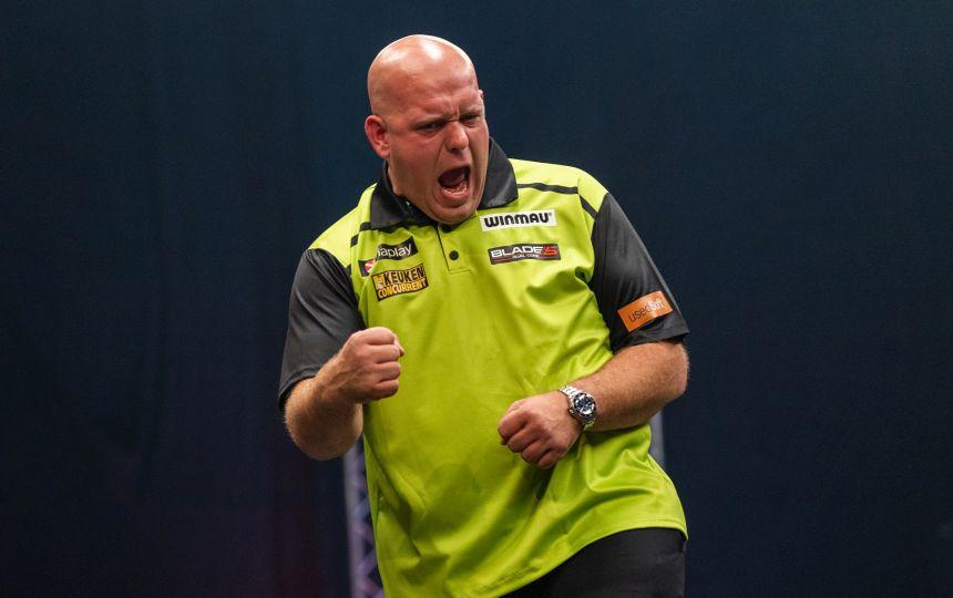 Michael van Gerwen siegte beim Premieren-Turnier in Kopenhagen.