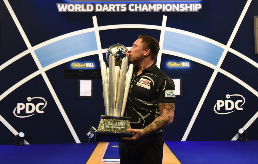 Gerwyn Price ist PDC-Weltmeister 2021
