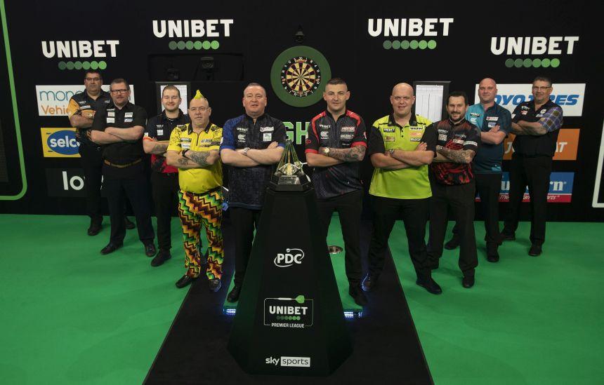 Gruppenfoto der Premier League 2021