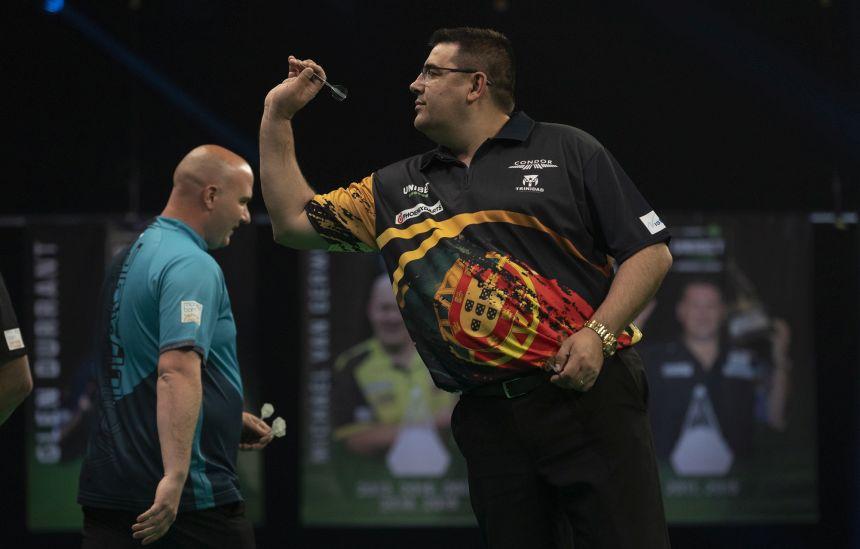 José de Sousa und Rob Cross trennen sich Unentschieden