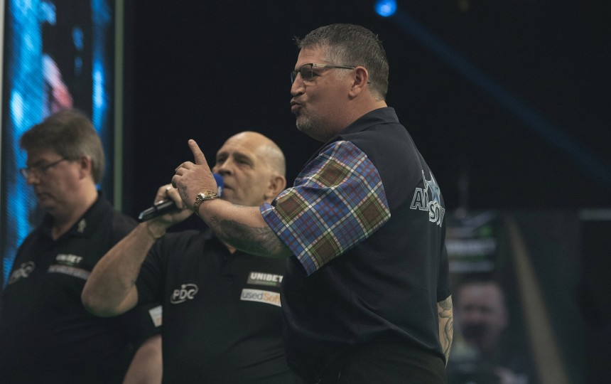 Gary Anderson PL 2021 Tag 2