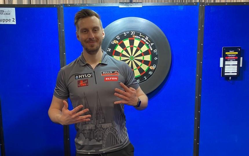Super League Darts Germany 2021 - Tag 3 - Florian Hempel