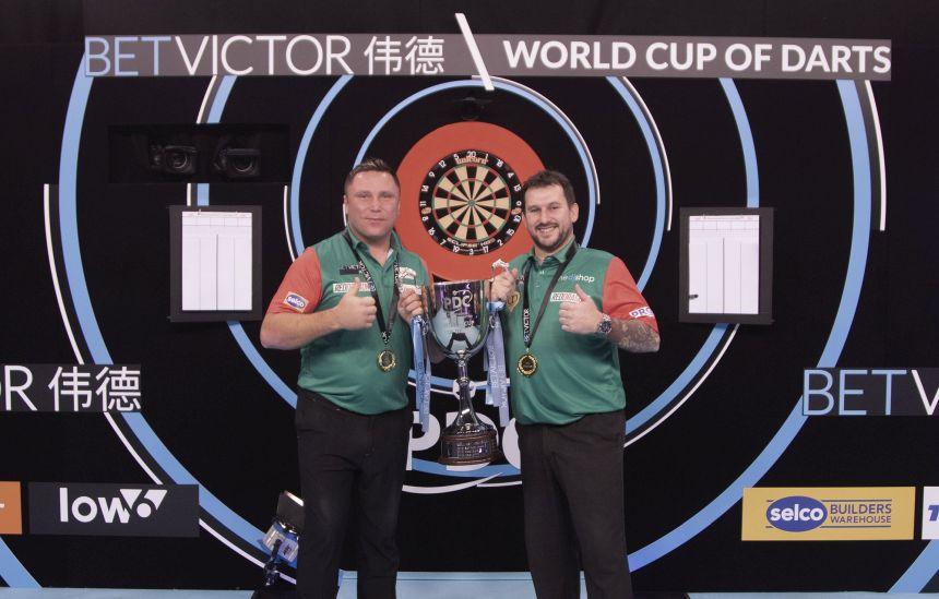 Team Wales ist Titelverteidiger beim World Cup of Darts