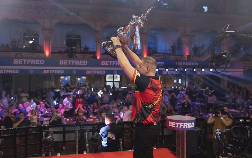 World Matchplay - Tag 1 - Dimitri van den Bergh