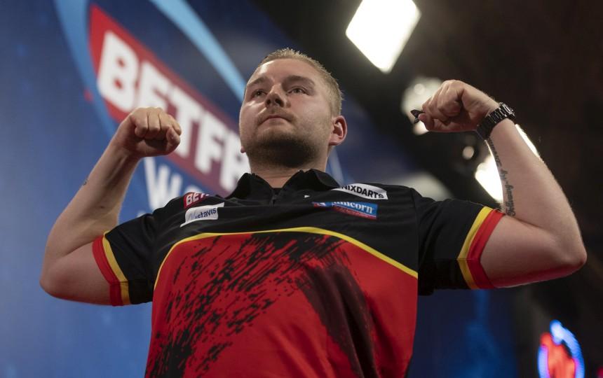 Dimitri Van den Bergh World Matchplay Viertelfinale