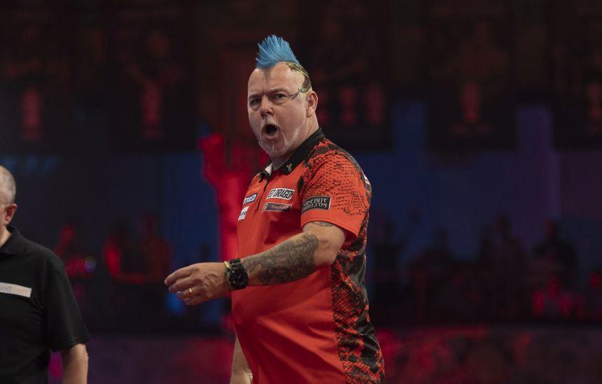 Peter Wright zieht deutlich ins Halbfinale ein
