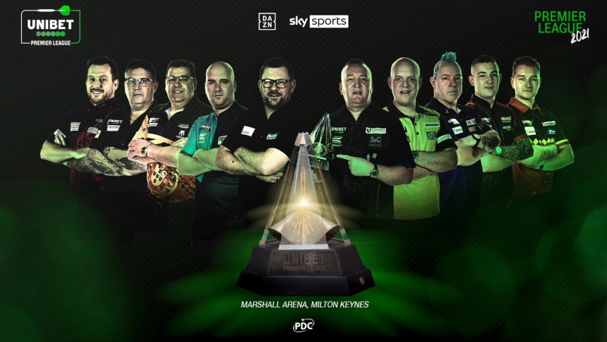 Premier League Darts - Teilnehmer 2021