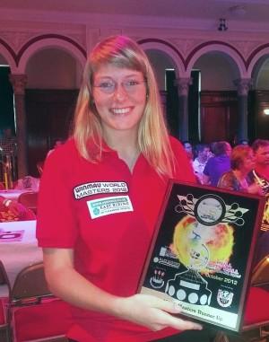Ann-Kathrin Wigmann: Vizesiegerin Winmau World Masters 2012