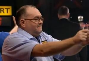 Tony O'Shea überzeugte bei seinem Sieg