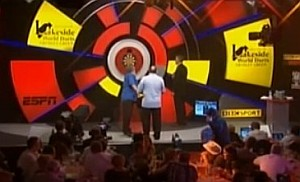 Steve Douglas und Tony O'Shea auf der Lakeside Bühne
