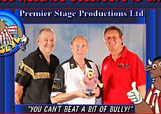 Bullseye ist als Roadshow mit John Lowe, Eric Bristow und Bob Anderson zurück