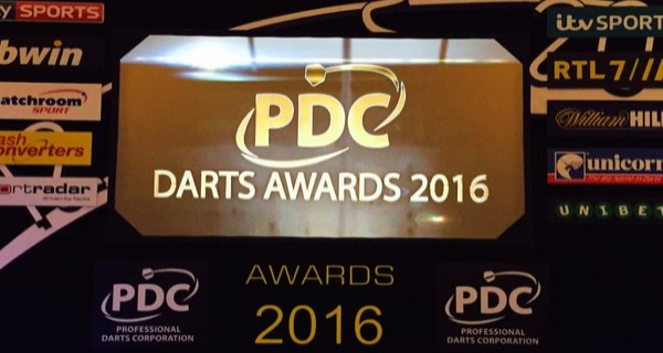PDC Award Diner 2016 Awards