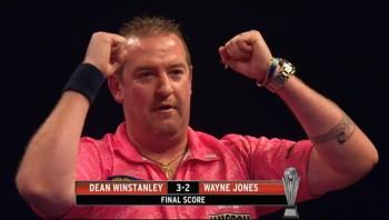 """Dean Winstanley war nach seinem Spiel """"over the Top"""""""