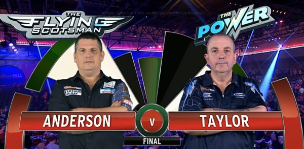 PDC Dart WM 2015 - Finale Gary Anderson - Phil Taylor