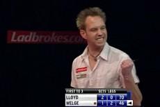 Andree Welge scheiterte nur knapp an der Sensation