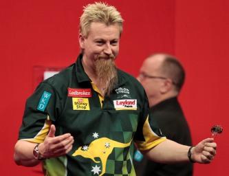 Simon Whitlock gewinnt trotz Knochenbruch souverän mit bisher bester Turnierleistung