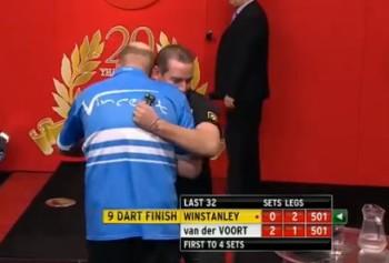 Als fairer Sportsmann gratulierte Vincent natürlich!