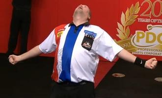 PDC Dart Weltmeisterschaft 2013 Viertelfinale Raymond van Barneveld