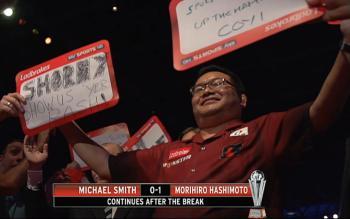 Hashimoto führt 1:0 - Da bahnte sich noch eine kleine Sensation an