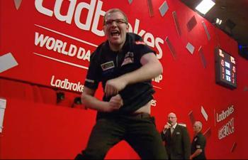 So freute sich Mark Webster über den unerwarteten Sieg