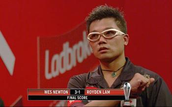 Roydan Lam hat stark gespielt und am Ende doch verloren