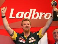 Simon Whitlock freut sich über den zweiten Platz