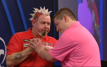 Peter Wright & Keegan Brown - PDC Dart WM 2016