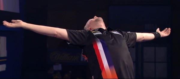 Raymond van Barneveld steht im Halbfinale der PDC Dart WM 2016