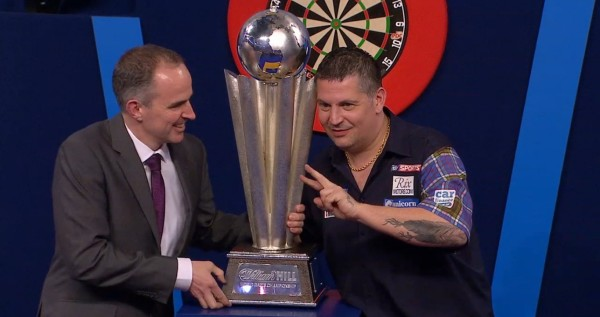 Der PDC Weltmeister 2016: Gary Anderson