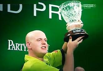 Sieger PartyPoker.com World Grand Prix 2012 Michael van Gerwen