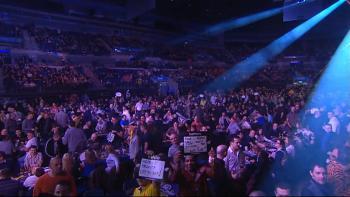 Mehr als 10.000 Zuschauer in der Echo Arena, Liverpool - Premier League 2014