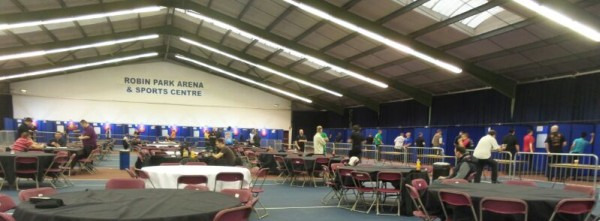 PDC Q-School 2015 in Wigan
