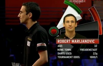 Robert Marijanovic PDC Dart WM 2012