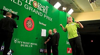 Michael van Gerwen Matchdart World Grand Prix 2013