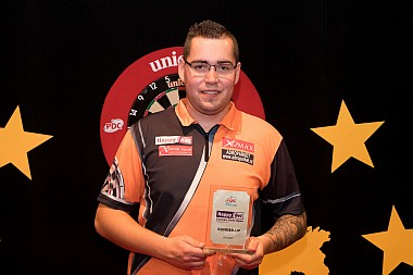 Benito van de Pas German Darts Open Runner-Up