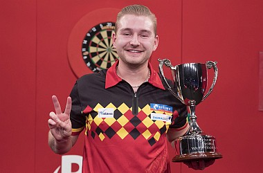 Dimitri van den Bergh ist World Youth Champion 2018