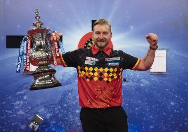 Dimitri van den Bergh gewinnt das World Matchplay 2020