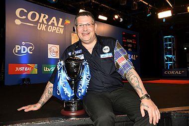 Gary Anderson gewinnt die UK Open 2018