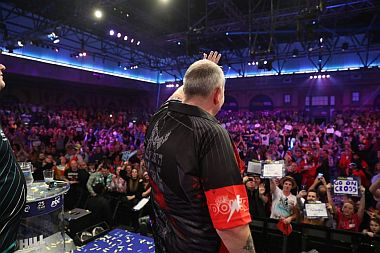 Phil Taylor Abschied PDC WM 2018