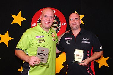 Rob Cross beim German Darts Grand Prix 2017